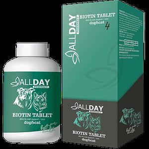AllDay Biotin Tablet Cat & Dog 75 Gr