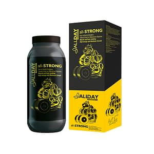 ALLDAY All-STRONG Muscle and Bone Builder High Energy and Maximum Growth