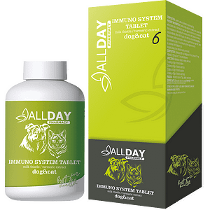 ALLDAY Immuno System Tablet Cat & Dog 25 Gr