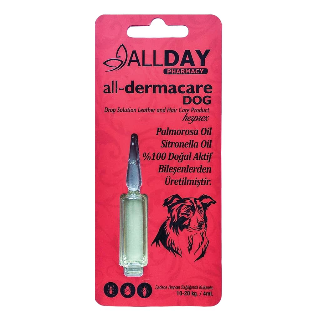 AllDay All-Dermacare Dog 4 ML 10-20 Kg