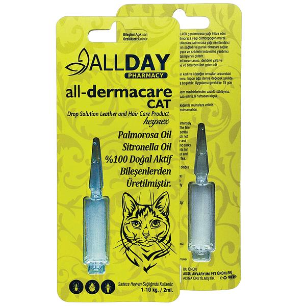 AllDay All-Dermacare Cat 2 ML 1-10 Kg